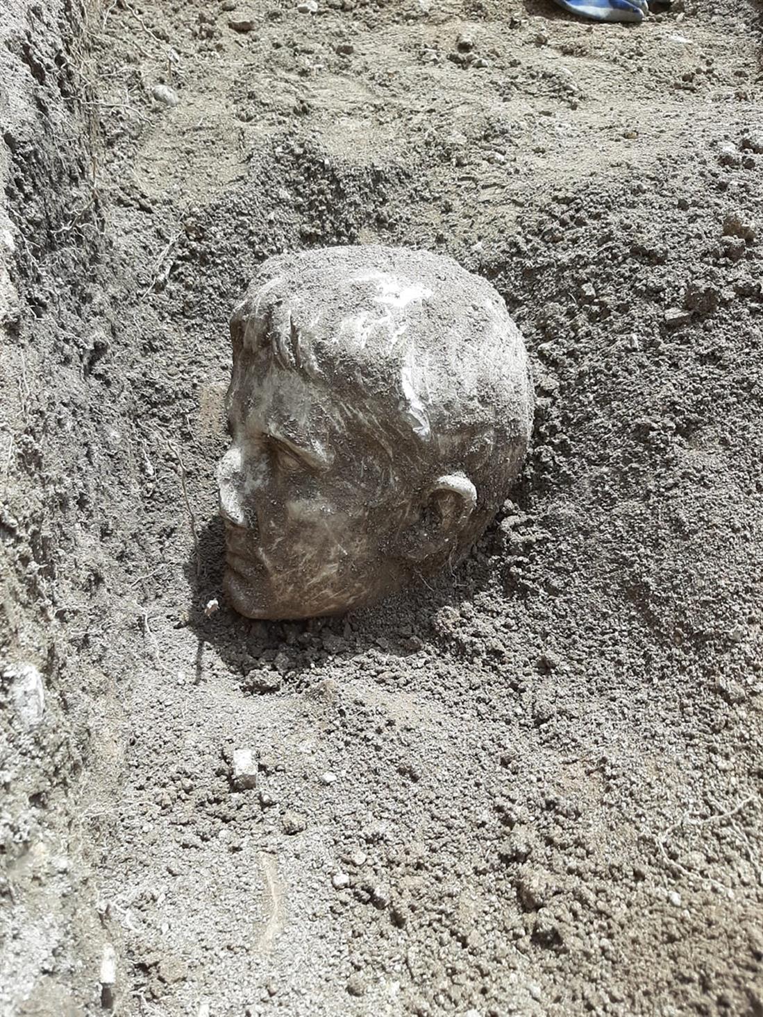 Αύγουστος - κεφάλι - ανακάλυψη - Ιταλία