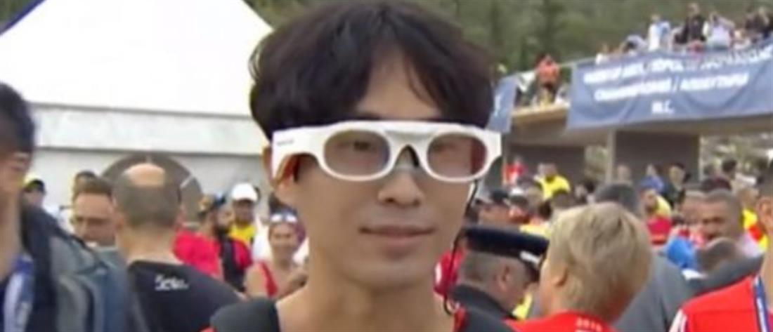 37ος Μαραθώνιος: Τυφλός αθλητής τερμάτισε χωρίς συνοδεία