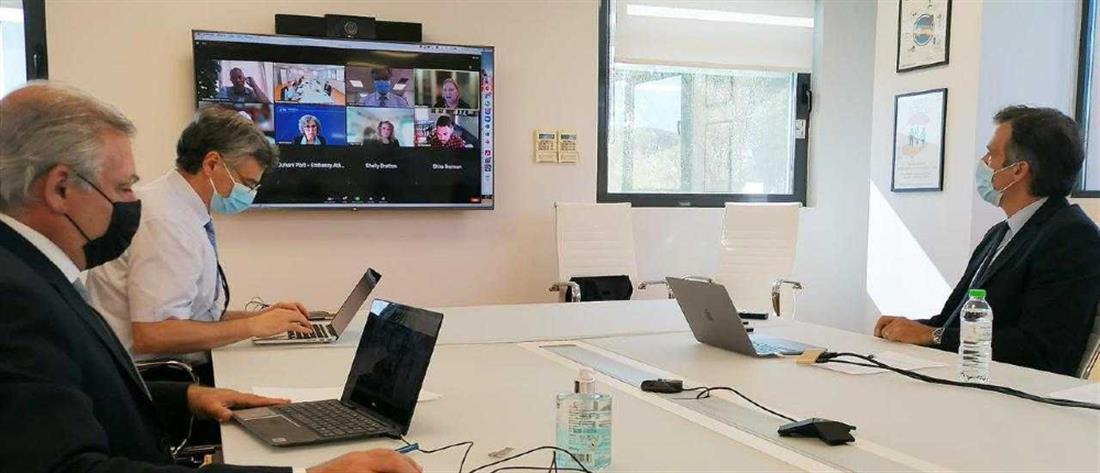 Κορονοϊός: Τηλεδιάσκεψη ΕΟΔΥ με το αμερικανικό CDC
