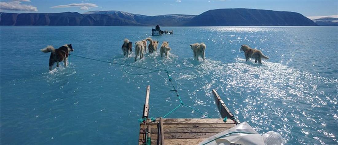 Γροιλανδία - λιώσιμο των πάγων