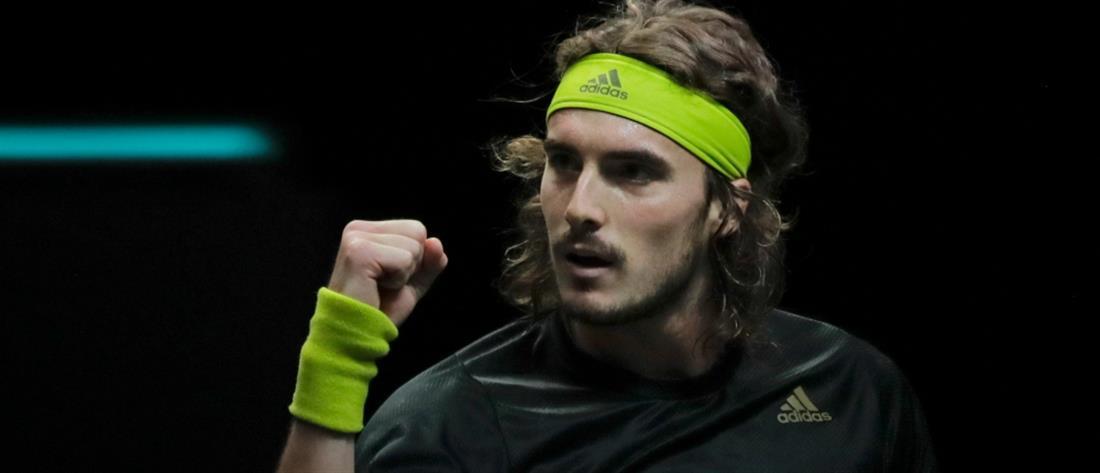 "Rotterdam Open: Ο Τσιτσιπάς στους ""4"" με ανατροπή"