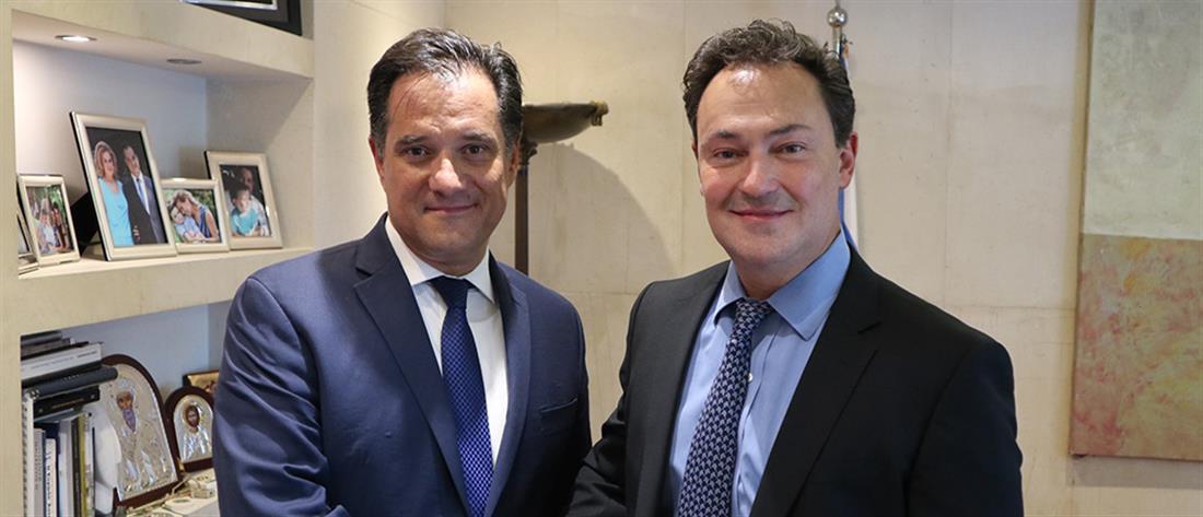 Συνάντηση Γεωργιάδη - Αθανασίου για την επένδυση στο Ελληνικό (εικόνες)