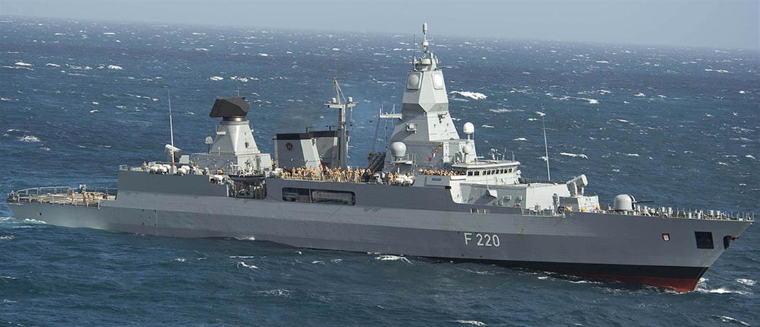 Η Γερμανία στέλνει φρεγάτα στην Μεσόγειο