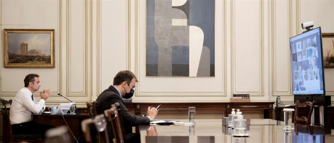 Μητσοτάκης: θετικό βήμα οι διερευνητικές επαφές με την Τουρκία