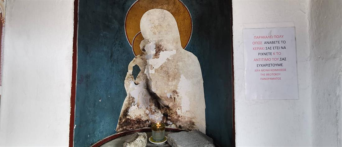 Ιερόσυλοι κατέστρεψαν εκκλησίες (εικόνες)