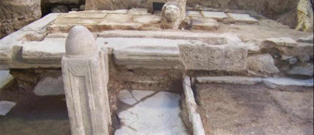 Αρχαία τείχη αποκάλυψαν τα έργα για Μετρό στην Θεσσαλονίκη (εικόνες)
