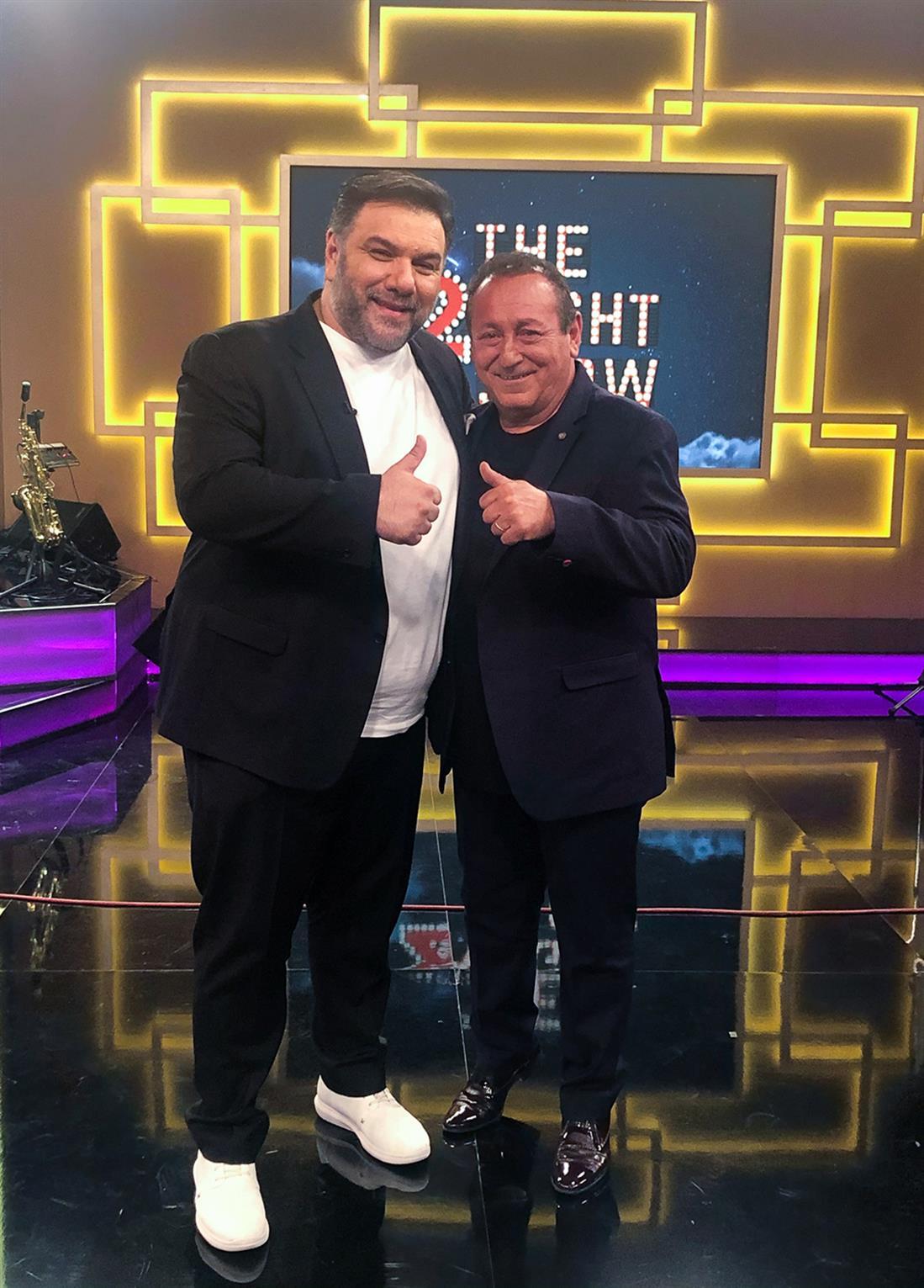 The 2Night Show - Γρηγόρης Αρναούτογλου - Σταύρος Φωτιάδης