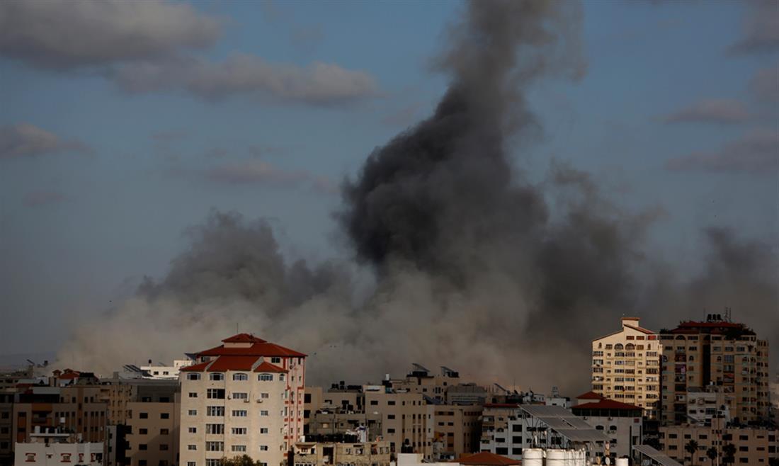 Γάζα - επιθέσεις - βομβαρδισμοί