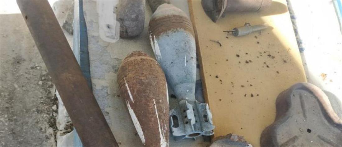 Εντοπίστηκε πολεμικό υλικό σε κατάστημα και σπίτι (εικόνες)