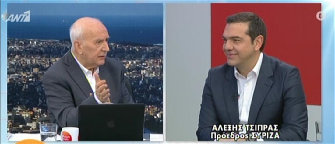 Τσίπρας στον ΑΝΤ1: αν συμβεί κάτι με την Τουρκία θα είμαστε μόνοι μας (βίντεο)