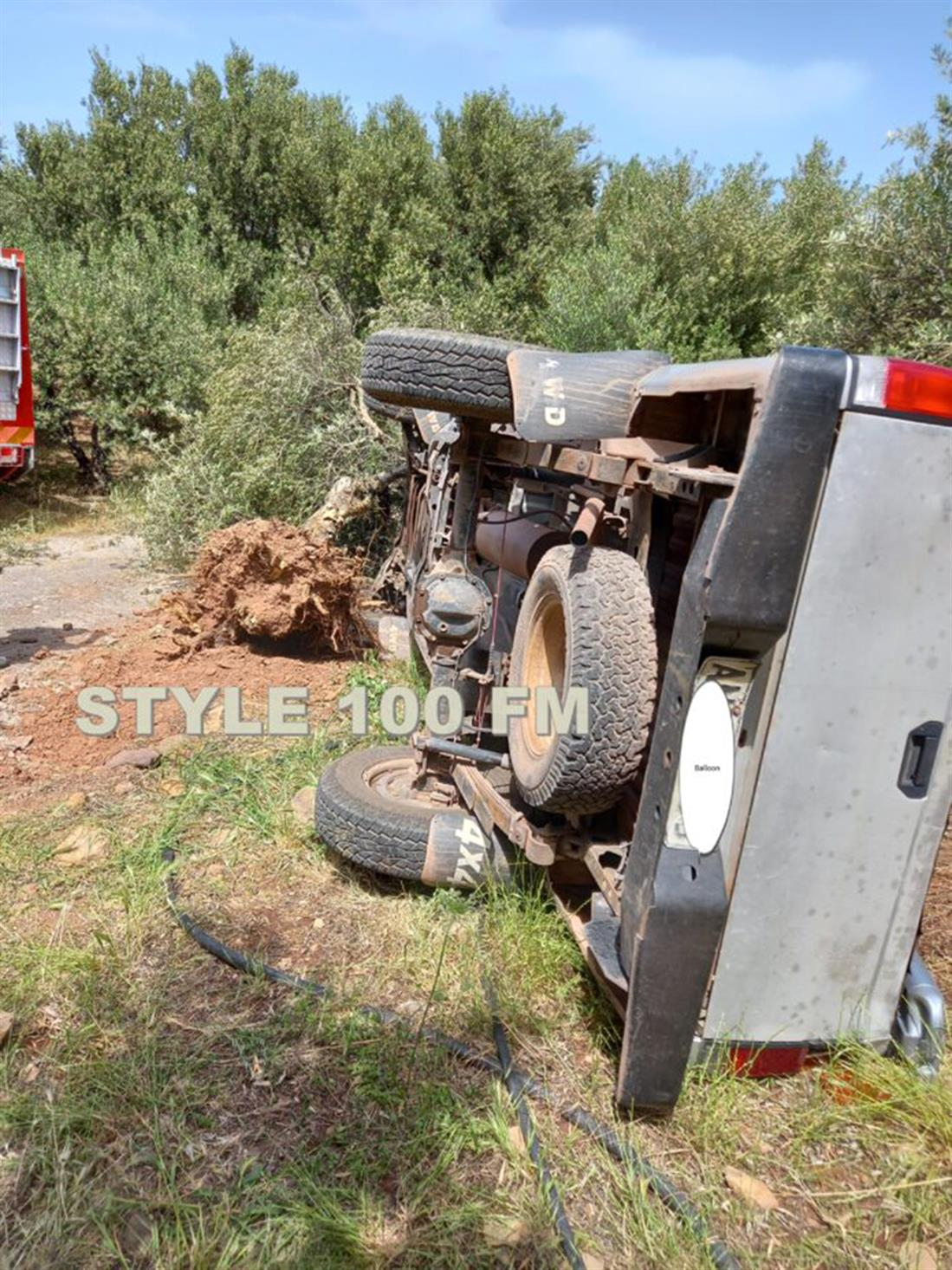 Κρήτη - τροχαίο δυστύχημα - Σητεία