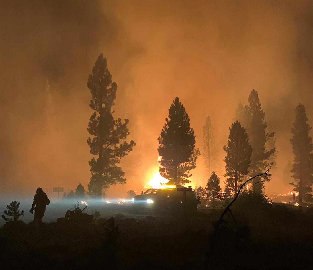 AP - ΗΠΑ - πυρκαγιά