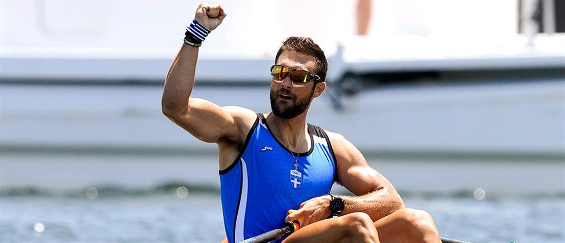 """Ολυμπιακοί Αγώνες - Κωπηλασία: Ο Στέφανος Ντούσκος """"βλέπει"""" μετάλλιο"""