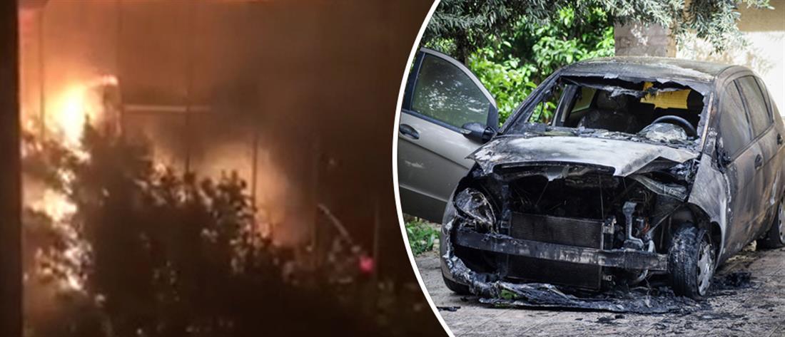 Πυρπόλησαν το αυτοκίνητο της Μίνας Καραμήτρου (βίντεο)