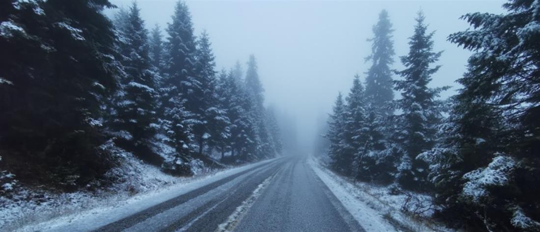 Έκτακτο δελτίο ΕΜΥ για καταιγίδες και χιονοπτώσεις