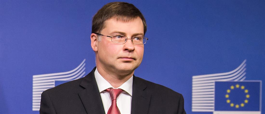 Ντομπρόβσκις: Στόχος η συνολική συμφωνία στο Eurogroup της 21ης Ιουνίου
