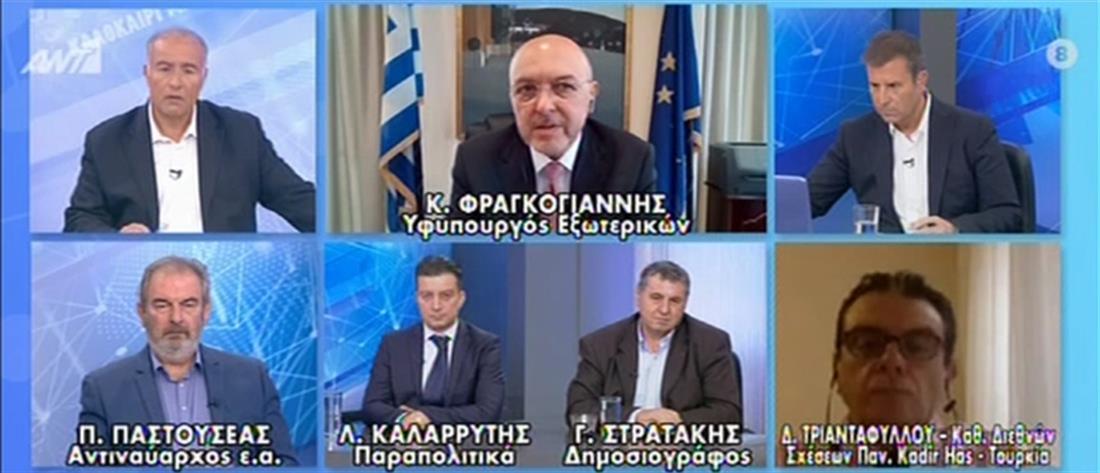 Φραγκογιάννης στον ΑΝΤ1: αμερικανική εταιρεία θα ιδρύσει κινηματογραφικά στούντιο στην Ελλάδα (βίντεο)