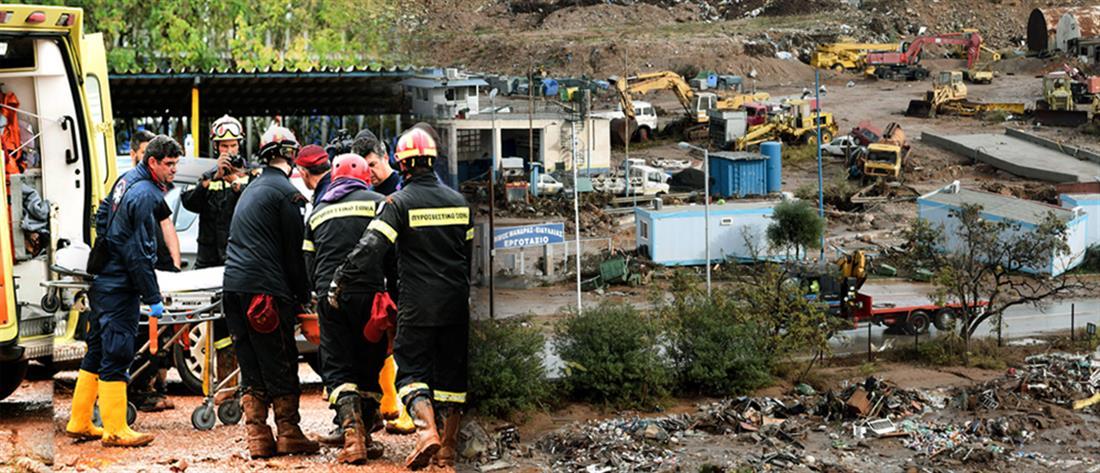 Στους 23 οι νεκροί από τις πλημμύρες στη δυτική Αττική