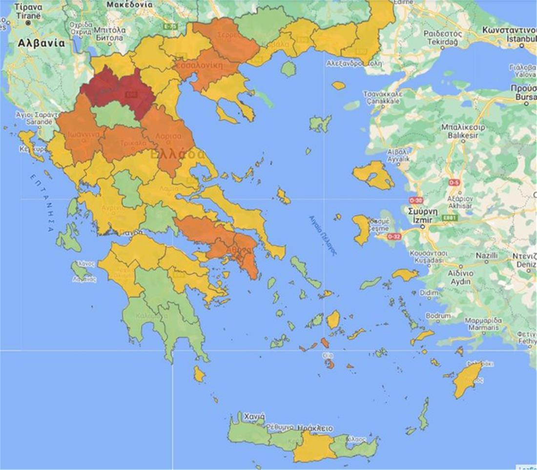Κορωνοϊός - Χάρτης υγειονοιμικής ασφάλειας