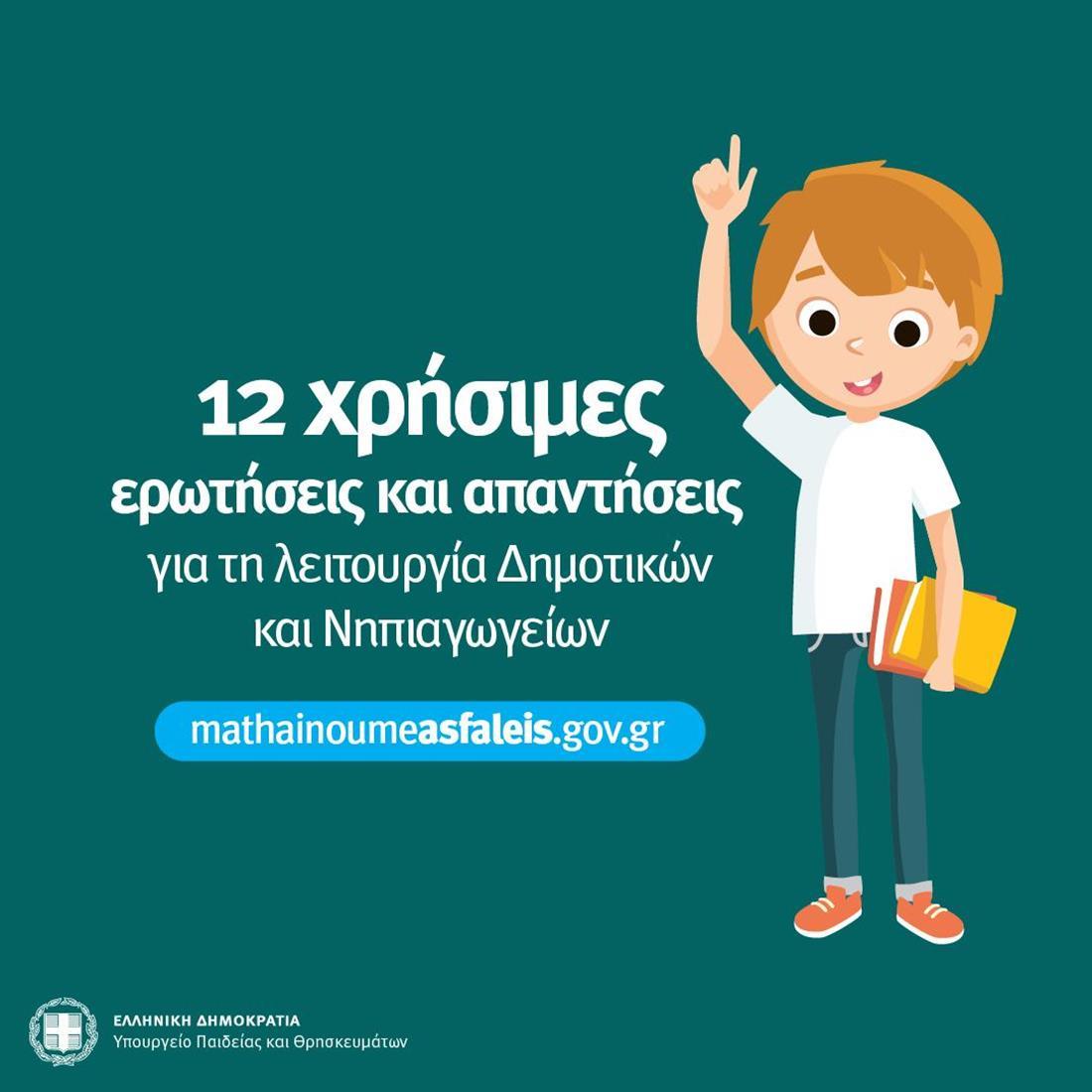 Τηλεκπαίδευση - αφισα - πίνακες