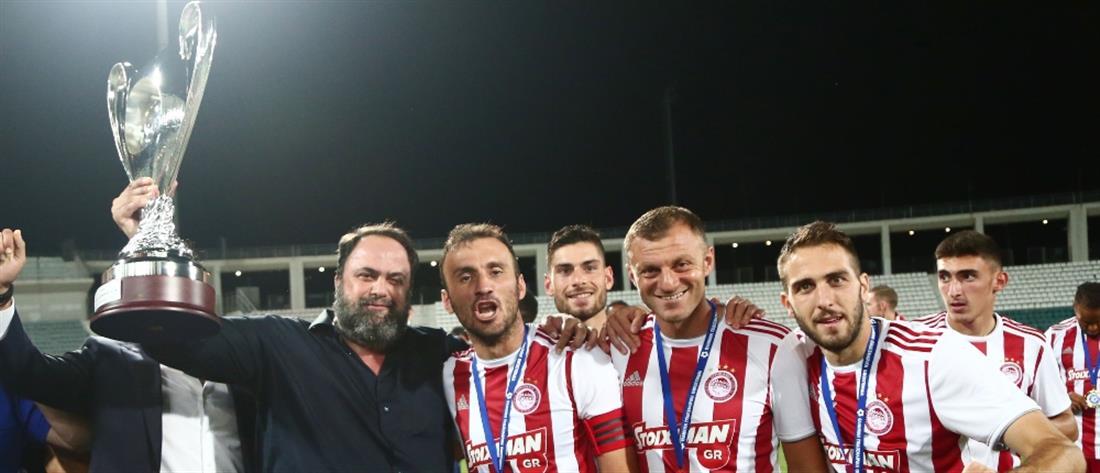 Μαρινάκης: ο Τοροσίδης μένει στον Ολυμπιακό