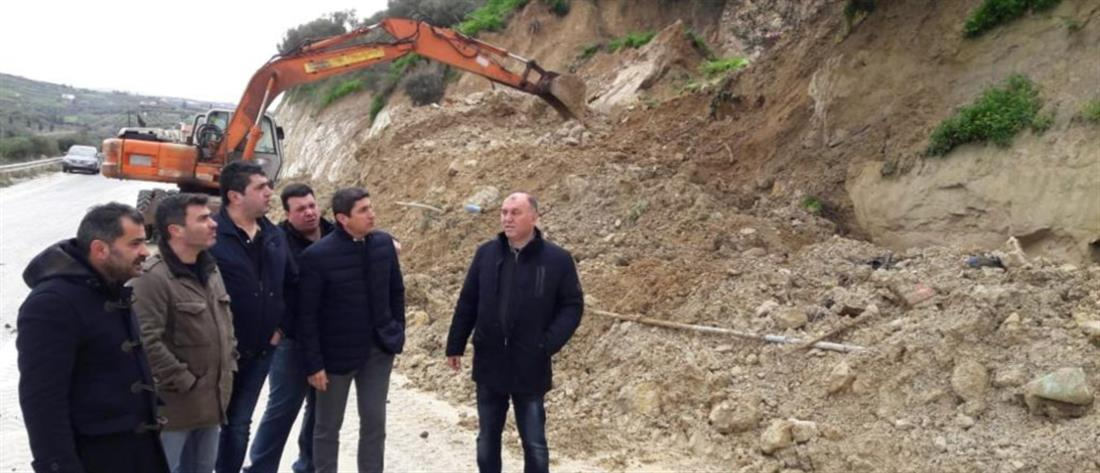 Κλιμάκια της ΝΔ στις πληγείσες περιοχές της Κρήτης
