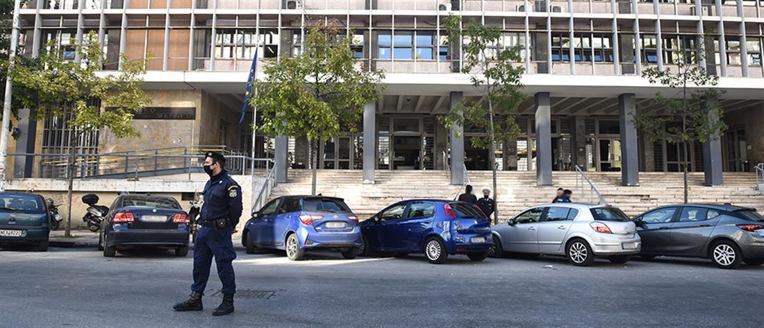 Θεσσαλονίκη: Εκκένωση των δικαστηρίων λόγω απειλών για βόμβες (εικόνες)