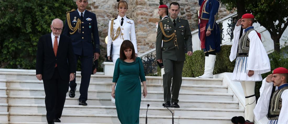 Προεδρικό Μέγαρο - δεξίωση - Αποκατάσταση της Δημοκρατίας
