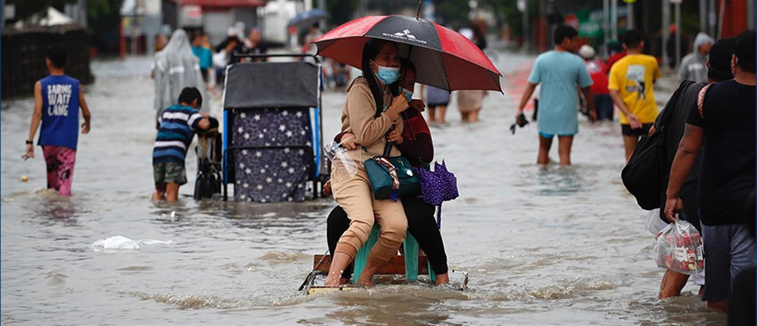 Κακοκαιρία στις Φιλιππίνες: Χιλιάδες άνθρωποι απομακρύνθηκαν από τα σπίτια τους