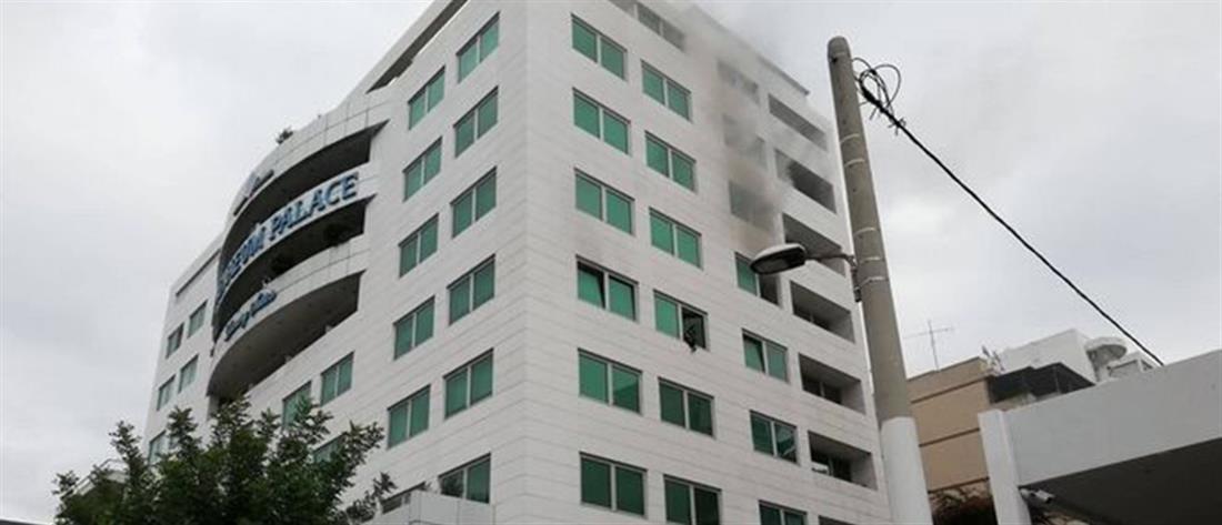 Φωτιά σε ξενοδοχείο στην Συγγρού