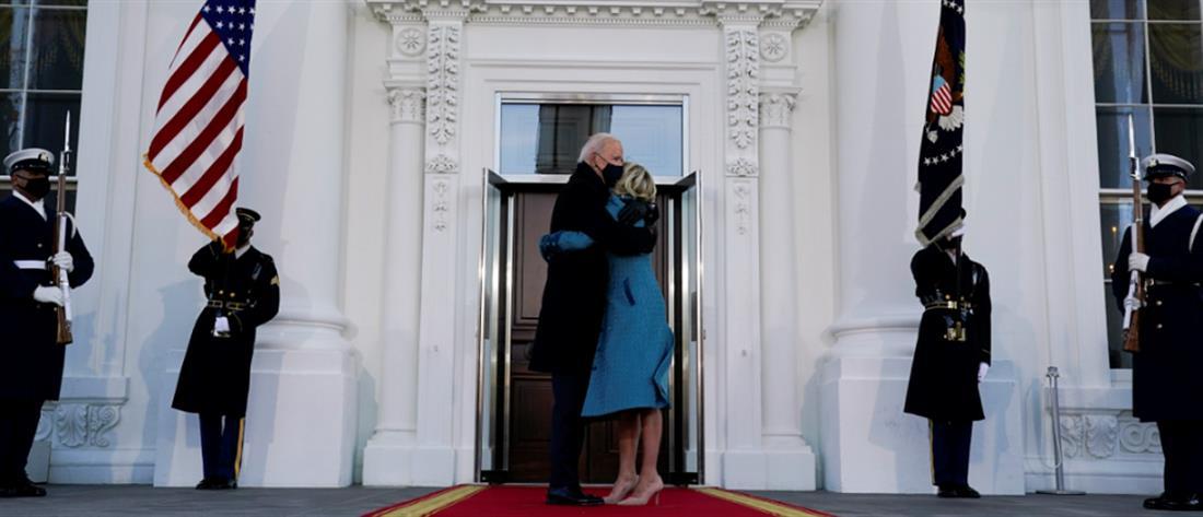 Ο Τζο Μπάιντεν εγκαταστάθηκε στον Λευκό Οίκο (εικόνες)