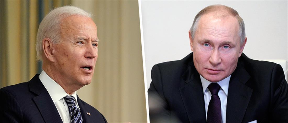 Ο Τζο Μπάιντεν ανακοίνωσε κυρώσεις κατά της Ρωσίας