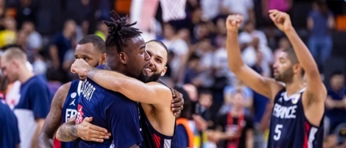 Μουντομπάσκετ: Αποκλεισμός – σοκ των ΗΠΑ από Γαλλία