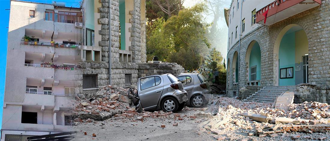 """Μετρά τις """"πληγές"""" της από τους σεισμούς η Αλβανία"""