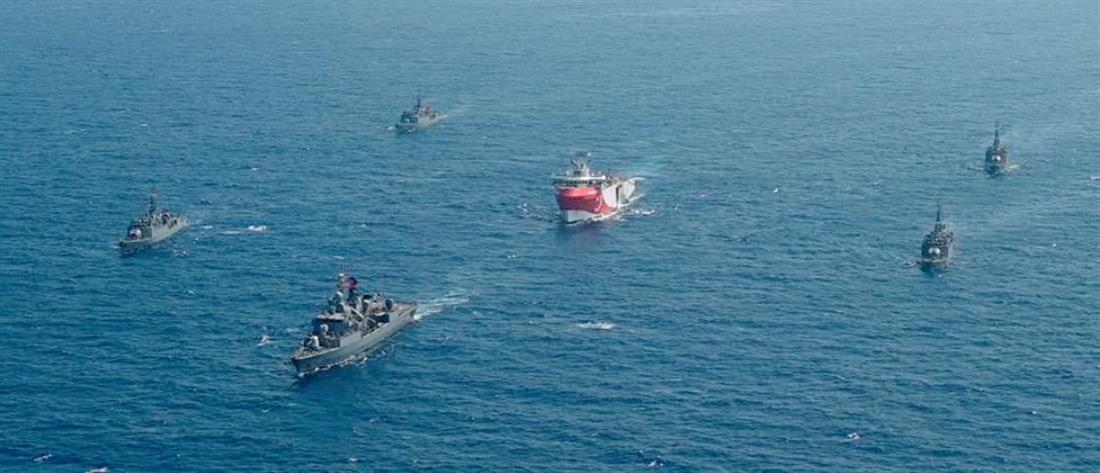Oruc Reis: Η Ελλάδα απαντά με αντι-Navtex στην Τουρκία