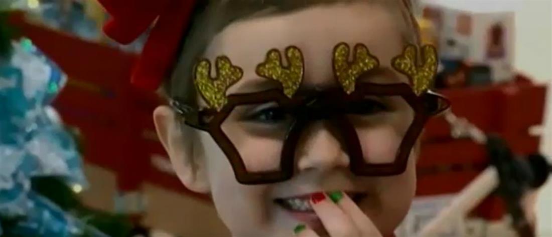 """""""Μαθήματα ζωής"""" από 6χρονη που νίκησε τη λευχαιμία (βίντεο)"""