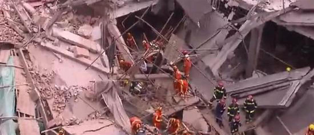 Συναγερμός για κατάρρευση κτηρίου στην Σαγκάη