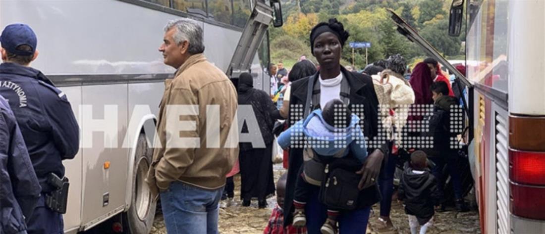 Έφυγαν μόνοι τους οι πρόσφυγες από την Μονή Πορετσού (εικόνες)