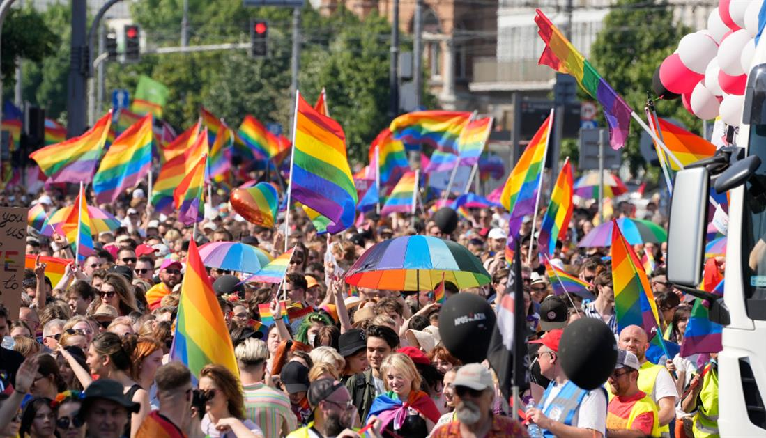 AP - Gay pride - Πολωνία - Βαρσοβία