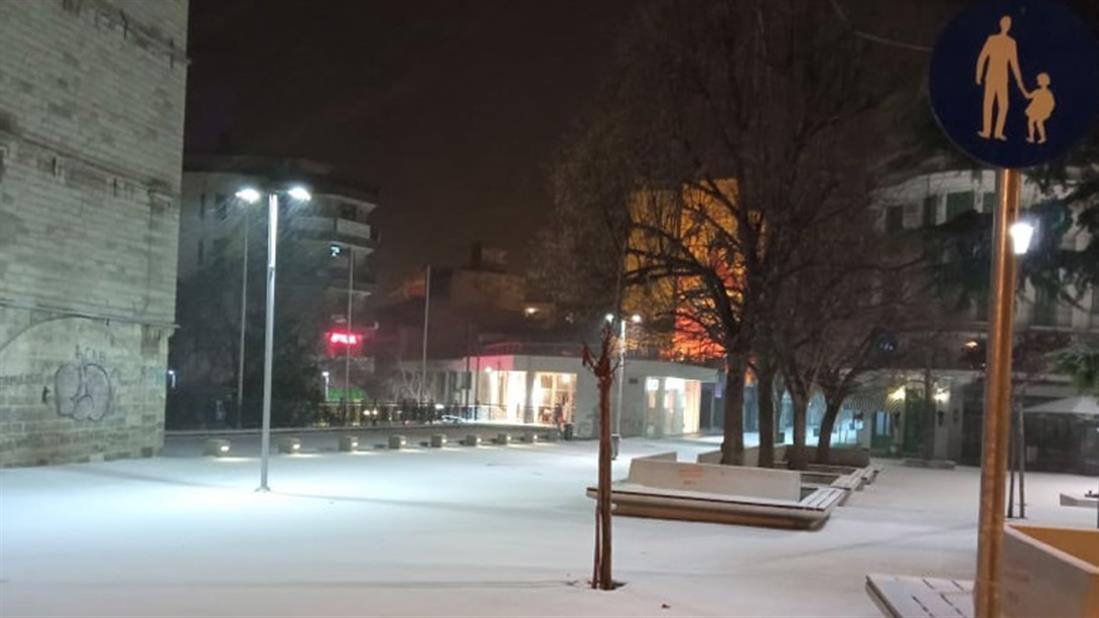 Κοζάνη - χιόνια
