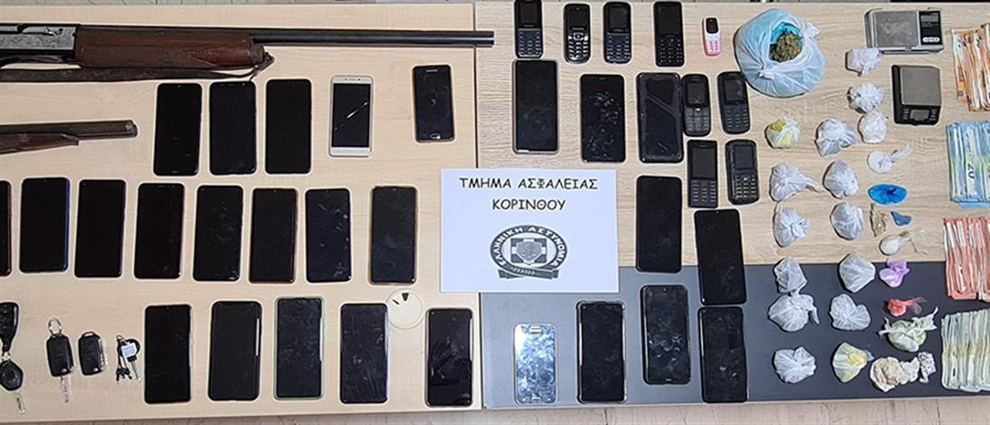Εξάρθρωση σπείρας ναρκωτικών με δεκάδες συλλήψεις (εικόνες)