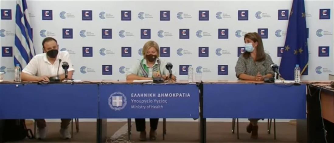 Κορονοϊός: Γκάγκα - Παπαευαγγέλου για κρούσματα, σχολεία και εμβόλια (βίντεο)