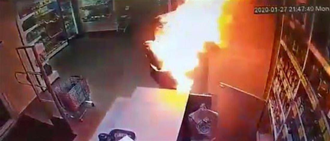 Περιέλουσε με πετρέλαιο τη σύντροφό του και της έβαλε φωτιά (εικόνες)