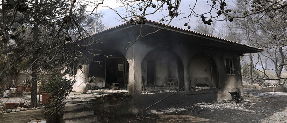 Φωτιά στο Σχίνο  Λουτρακίου: Μάχη για να τεθεί υπό έλεγχο (εικόνες)