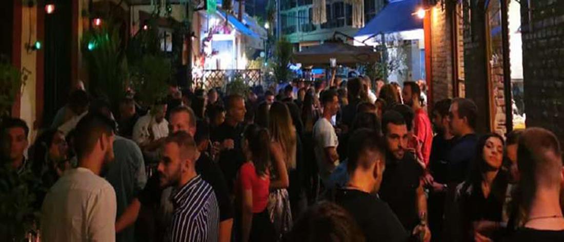 Κορονοϊός – Θεσσαλονίκη: απίστευτες εικόνες συνωστισμού στα Λαδάδικα (εικόνες)