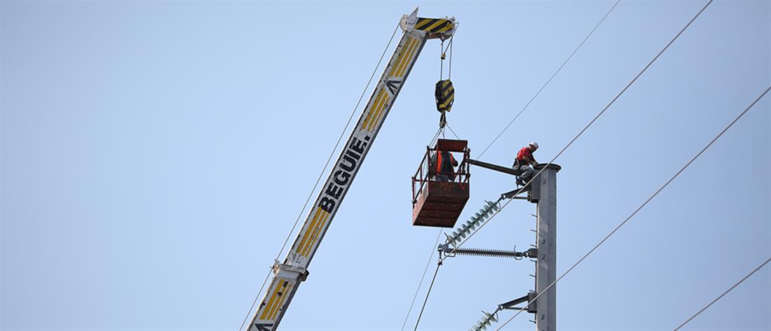 ΔΕΔΔΗΕ: αποκαθίσταται σταδιακά η ηλεκτροδότηση στη Χαλκιδική