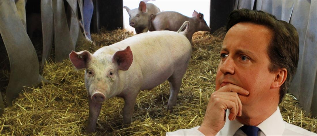 Τα φοιτητικά όργια του Ντέιβιντ Κάμερον με… το γουρούνι