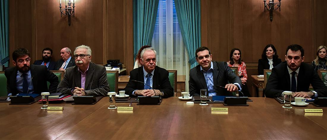 Τσίπρας στο Υπουργικό Συμβούλιο: έχουμε πολλή δουλειά μέχρι τον Σεπτέμβριο