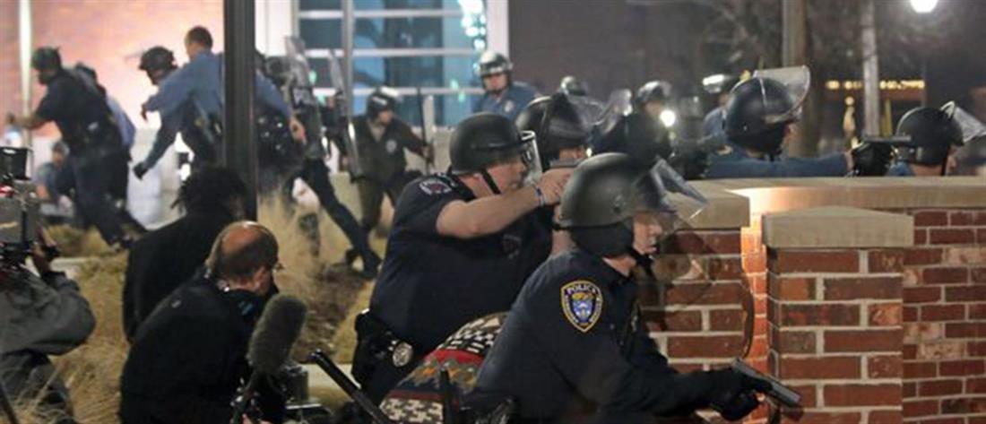 Φέργκιουσον: Πυροβολισμοί στην πορεία μνήμης για τον Μάικλ Μπράουν