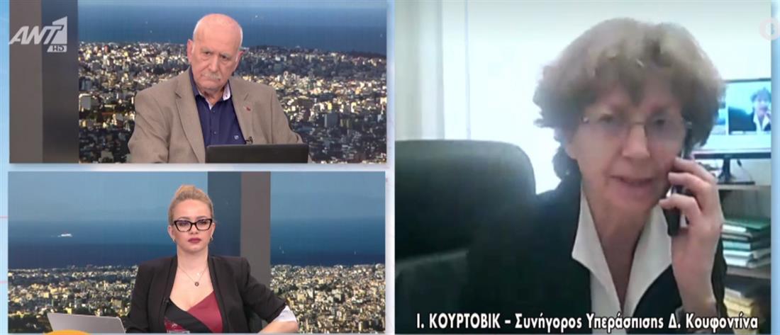 Κούρτοβικ στον ΑΝΤ1: Θα ζητήσουμε διακοπή ποινής του Κουφοντίνα